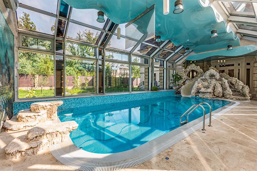 Построение приточно-вытяжной вентиляции бассейна