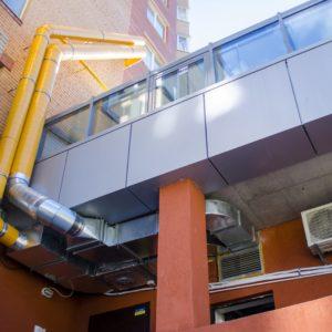 Система полупромышленной вентиляции бара-ресторана «Прянощі»