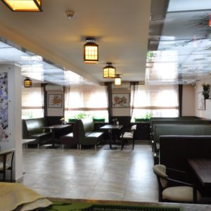 Ресторане «Busan» вентиляции