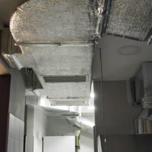 Монтаж промышленной вентиляции в суши-пиццерию компанией «Квєнто»
